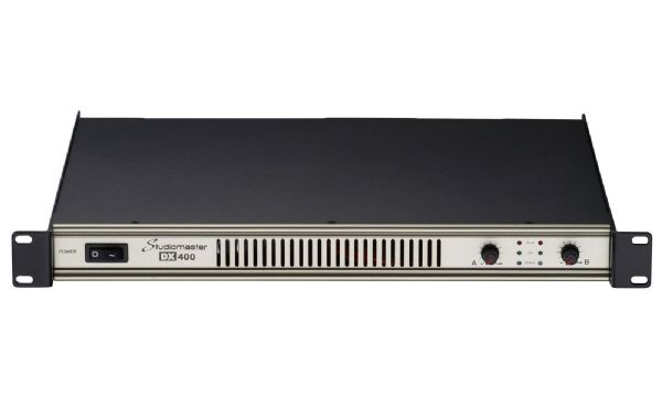 Studiomaster DX400 - 2 x 200W 1U Power Amplifier
